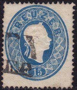 Austria - 1860-1861 - Scott #16 - used - Franz Josef