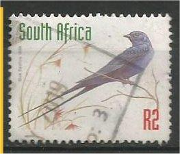 SOUTH AFRICA, 1998, used 2r, Blue Swallow, Scott 1043