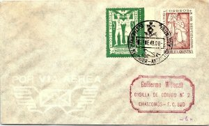 ARGENTINA ARCTIC ANTARCTIC POLAR CANCEL / CACHET #101
