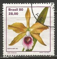 BRAZIL 1714 VFU R334-1