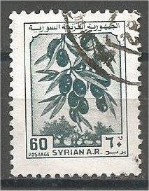 SYRIA, 1982, used 60p, Olives, Scott 926