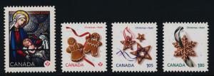 Canada 2582i-5i MNH Christmas, Art