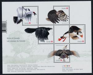 Canada 2929 MNH Birds, Owl, Puffin