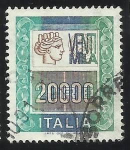 Italy SC 1297 Used VF