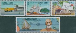 Samoa 1974 SG430-433 UPU set MNH
