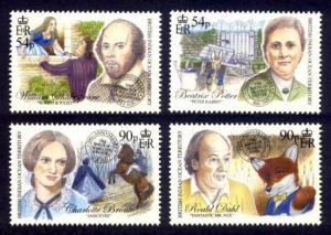 British Indian Ocean Territory Sc# 458-6 MNH Literary Greats