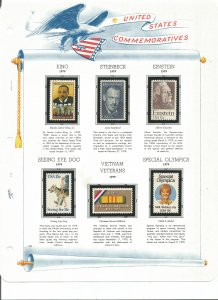 USA Postal Stamps MNH 1979 (15 stamps)