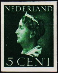 Netherlands. 1940 5c (Imperf) S.G.5006 Mounted Mint
