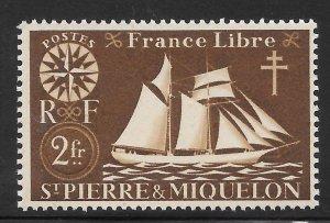 Saint Pierre and Miquelon Mint Never Hinged [4156]