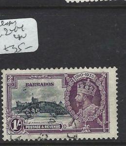 BARBADOS   (PP2903B)     KGV SILVER JUBILEE  SG  244     VFU