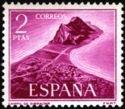 Spain 1969 Field of Gibraltar