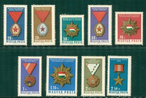 R4-0015 HUNGARY 1754-62 MNH SCV $2.35 BIN $1.50 (3)