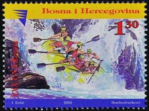 Bosnia & Herzegovina Bosniak Govt 417 MNH Una River Regatta, Rafting