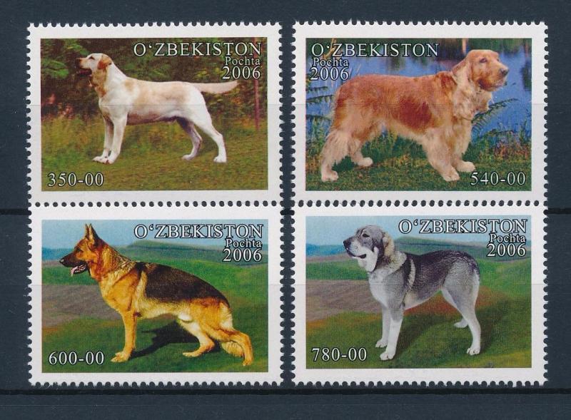 [39712] Uzbekistan 2006 Animals Dogs MNH