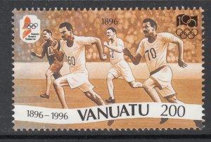 Vanuatu 687 Summer Olympics MNH VF