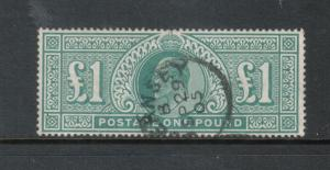 Great Britain #142 Very Fine Used With CDS Cancel