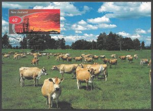[24884] New Zealand # 1526 - 31 FDC On Postcards
