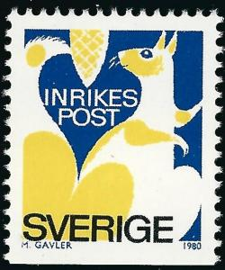 Sweden Vibrant & Attractive Sc #1323 Mint NH VF Cat $1.50