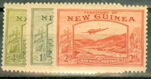 B: New Guinea C46-55 MNH CV $200; scan shows only a few