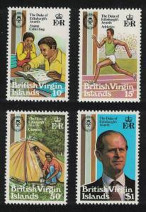 BVI 25th Anniversary of Duke of Edinburgh Award Scheme 4v SG#466-469