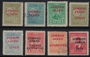 Paraguay #C25-7,9-32*/u  CV $7.00