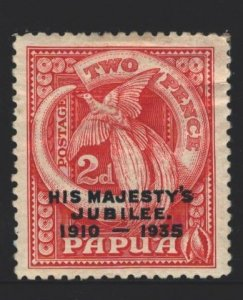 Papua New Guinea Sc#115 MH