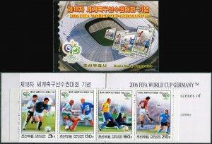 Korea 2006. FIFA World Cup 2006, Germany (MNH OG) StampPack