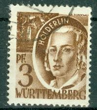 Germany - French Occupation - Wurttemberg - Scott 8N2
