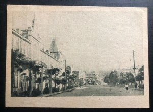 1935 Baku Russia USSR Picture Postcard Cover To Northfield MN USA City View