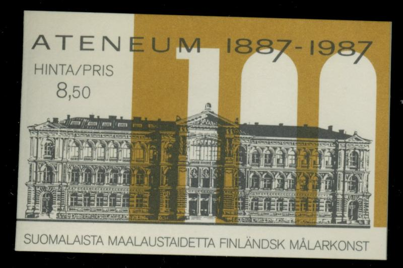 Finland #758a-e MINT Booklet VF NH Cat$9