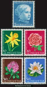 Switzerland Scott B339-B345 Mint never hinged.