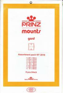 PRINZ BLACK MOUNTS NY2016 (8) RETAIL PRICE $15.00