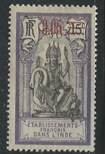French India ||  Scott # 52 - MH