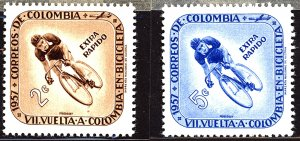 Colombia #Mint Collection of Stamps, Mixed Condition
