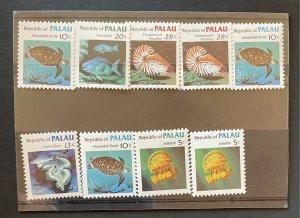 Palau 11-15 MNH