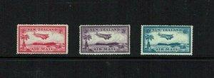 New Zealand: 1935  Air Mail,  MNH set