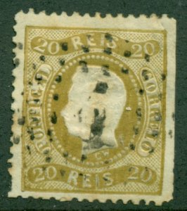PORTUGAL #27, Used, Scott $110.00