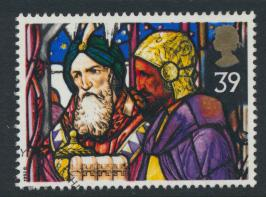 Great Britain  SG 1638 SC# 1472 Used / FU with First Day Cancel - Christmas 1992