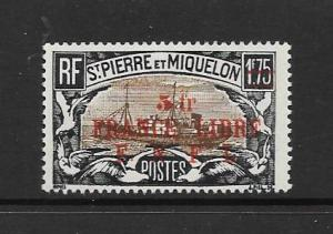 ST PIERRE #221  no gum