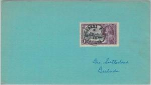 74793 - ANTIGUA - POSTAL HISTORY - COVER from JOHNSON'S POINT  1948