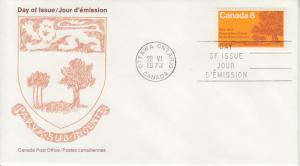 1973 Canada Post Prince Edward Island  (Scott 618) FDC