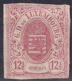 Luxembourg #8  Unused  CV $275.00  (Z6176)