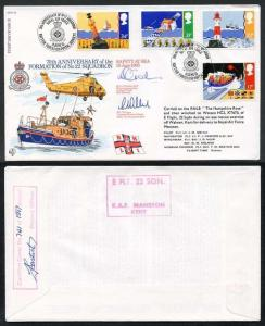 RFDC36 Safety At Sea 18 June 1985 Signed by N Tredray and Mr C. Williams