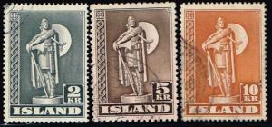 Iceland # 229 - 231 U