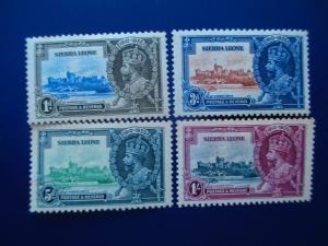 Sierra Leone #166-69 Mint Hinged- (HZ8) WDWPhilatelic!