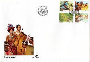 Ciskei - 1987 Folklore FDC SG 119-122
