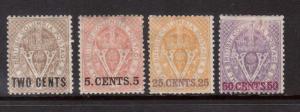 British Columbia #8 #9 #11 #12 Mint Quartet
