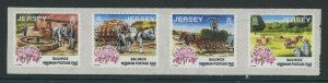 Jersey 1999 Days Gone By strip/4 Sc# 857c NH