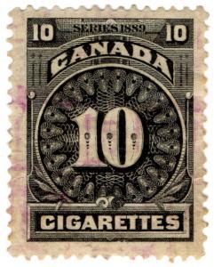 (I.B) Canada Revenue : Cigarette Duty (ten)