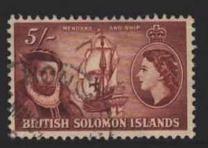 Solomon Islands Sc#103 Used